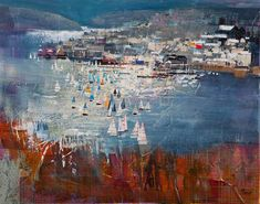 SALCOMBE FROM SNAPES POINT 24X30