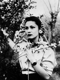 Princess Fawzia Fuad of Egypt and of Iran, c. 1940.