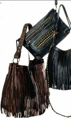 MCFADIN Fringe Bags