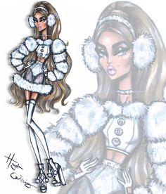 'Festive Fashionistas' by Hayden Williams: #SnowKissed