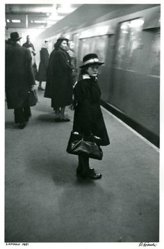 London, 1951 by Robert Frank  I like the gloominess and dark shadows possibly…