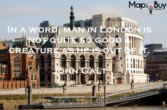 Man in #London. #London-quotes