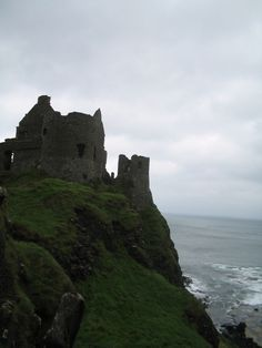 Dunluce Castle in Northern Ireland, said to be the inspiration for Cair Paravel
