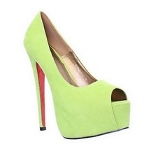 Runway Shoes: Lime