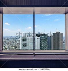 Risultati immagini per windows tokyo skyscraper from inside