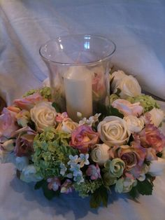 Artificial Flower Wedding Table Storm by SarasBudsandBlossoms, £50.00