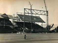 The Goodison Road stand takes shape University Of Liverpool, Liverpool Home, Liverpool History, Old Pictures, Old Photos, Merseyside Derby, World Cup Games, 1966 World Cup, Bristol Rovers