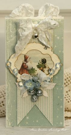 Anne's paper fun: Wild Orchid Challenge - Just love her soft colors and vintage images.