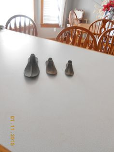 Set of Three Vintage Cobbler's Cast Iron by CountryMileCottage