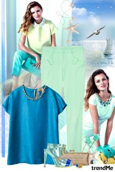 Turquise summer! from Lady Di ♕  - trendme.net