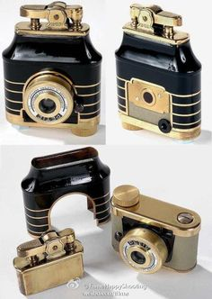 Petit Lighter camera,made in 1950--need to find one of these for my son's collection.