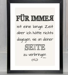 Liebeserklärung - Für immer... My Big Love, Love You, Love Poems, Love Quotes, Marriage Proposals, Day Of My Life, True Words, To My Future Husband, Positive Thoughts