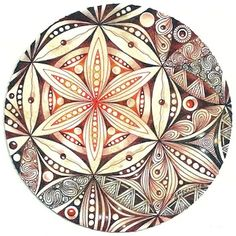 Enthusiastic Artist, Margaret Bremner: Flower of Life  ---> Great tools for…