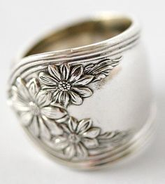 Vintage Daisy Spoon Ring by Dora Lou on Scoutmob Shoppe