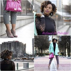Fashion Refined ~ Classic Black and White | Refined and Polished