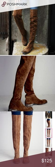 Free People Carlisle Over the Knee Boots SEE LAST IMAGE Free People Shoes Over the Knee Boots