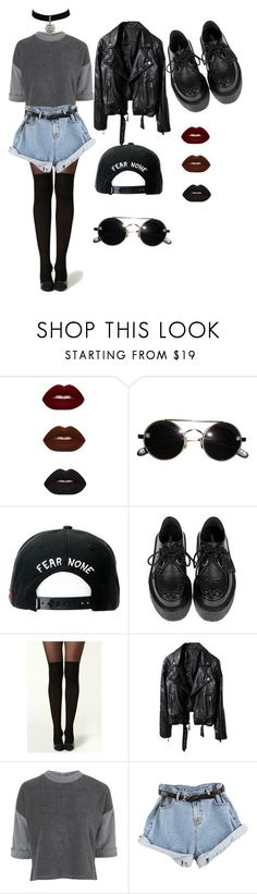 """New Grunge"" by demolition ❤ liked on Polyvore featuring Trukfit and Topshop"