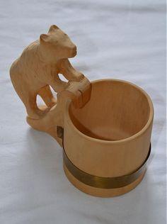 klasický črpák vyrobený z lipového dreva, napustený ľanovým olejom