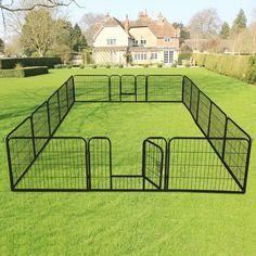 Beauceron Dog, Cavachon Puppies, Goldendoodle, Cat Fence, Diy Dog Fence, Diy Dog Run, Dog Playpen, Dog Kennels, Large Playpen