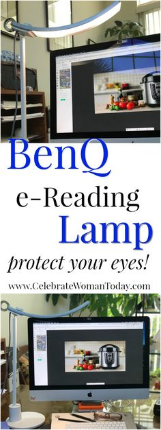 BenQ e-Reading LED Lamp is one of the best investments you can ever make. Excellent for computer work, book reading, crafting and DIY projects. Protect your eyes!