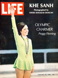 1968 Cover LIFE Peggy Fleming Figure Skater Olympic Gold Medal Arthur Rickerby