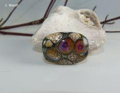 Glasperlenschmuck - Handgewickelte Glasperle - Künstlerperle - ein Designerstück von wendt-claudia bei DaWanda