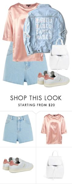 """."" by owl00 ❤ liked on Polyvore featuring Warehouse, Boohoo, Yeezy by Kanye West, adidas Originals and Mansur Gavriel"