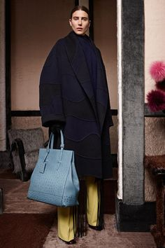 Agnona   Fall 2014 Ready-to-Wear Collection   Style.com black & blue