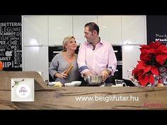 Liptai Claudia és Pataki Ádám bejglit sütnek. - YouTube