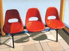 Three Seater print by Leah Giberson $50  (Boston)
