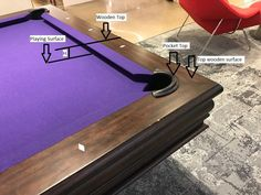 Billiard Table Hard Top Cover - Pool Table Dining Conversion