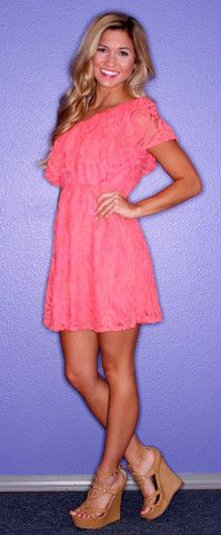 LADY LACE CORAL  IMPRESSIONS  $42.00