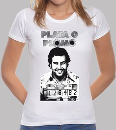 Camiseta Plata o plomo