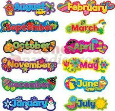 Months Of The Year Calendar Printables | Printable Calendar 2014
