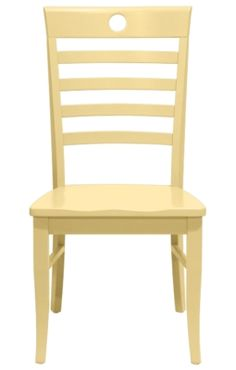 Nevis Dining Chair in Sun | Maine Cottage #colorfulfurniture