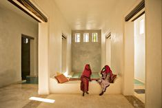 Image 19 of 29 from gallery of Swahili Dreams Apartments / Urko Sanchez Architects. Photograph by Javier Callejas Minimalist Architecture, Islamic Architecture, Contemporary Architecture, Architecture Design, Hotel Apartment, Dream Apartment, Apartments, Lamu Kenya, Kenya Africa
