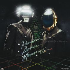 Daft Punk - Random Access Memories (Fan Art)