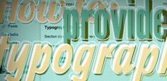 Providing Typography Options in Your WordPress Themes