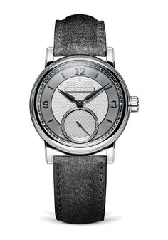 The limited edition Roma Synergy (shown here in grey) is a marriage of two principal haute horological watch ateliers: Schwarz Etienne and Kari Voutilainen. This collaboration is an exemplar of synergy where the expertise of both parties working together surpasses the combined efforts of each party working in isolation. Voutilainen is world-renowned for his hand-finishing techniques and they are on full display in the incredible detailing of the Roma Synergy dial. #limitededitionwatch Expensive Watches, Most Expensive, Royal Blue Color, Silver Color, Limited Edition Watches, Black Polish, Grey Leather, Stainless Steel Case, Red Gold
