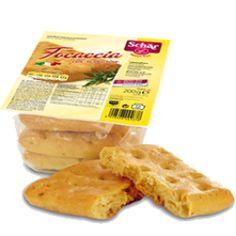 Focaccia con rosmarino 3 stuks - Glutenvrijemarkt