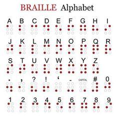 Resultado de imagen para como sentir el relieve del braille