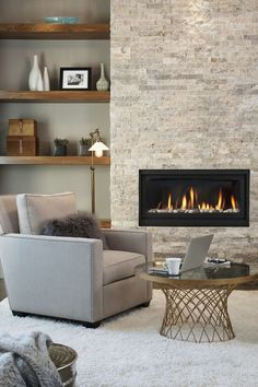 11 Cozy Photos of Fireplaces That Will Make You Want To Stay Inside All Winter - Fireplace Photos