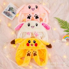 Anime Cartoon Hats Moving Ears Cute Toy Hat Airbag Kawaii Funny Toy Hat for Girls Cap Kids Plush Toy Christmas Gift Funny Toys, Cute Toys, Pikachu, Kawaii, Animal Hats, Bunny Plush, Christmas Fashion, Christmas Gift Tags, Toy Sale