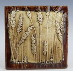 Pressed Wheat Tile