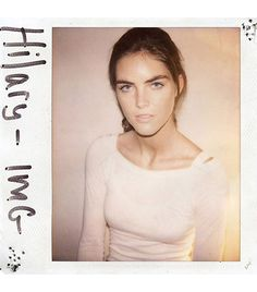 Hilary Rhoda  Big break: Being cast by Nicholas Ghesquiere for Balenciaga's S/S 06 sh
