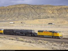 RailPictures.Net Photo: UP 4014 Union Pacific Steam 4-8-8-4 at Rock Springs, Wyoming by Rolf Stumpf