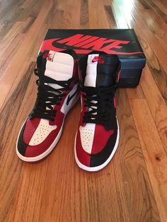 air jordan 1 homage to home size 11 Nike Shoes For Sale, Nike Air Shoes, Nike Air Jordans, Custom Painted Shoes, Custom Shoes, Me Too Shoes, Men's Shoes, Shoes Sneakers, Jordan Retro