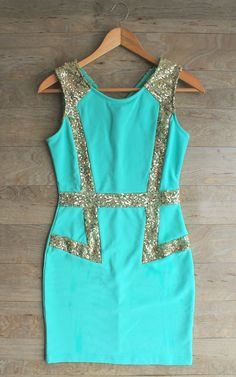 <3blue dress Street Style Teen fashion Cute Dress! Clothes Casual Outift for • teens • movies • girls • women •. summer • fall • spring • winter • outfit ideas • dates • school • parties mint cute sexy ethnic skirt