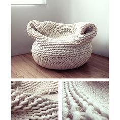 """COOL THING WE WANT #381 """"Bdoja"""" Chair Hand-Knit In The Traditional Oaxacan Style"""