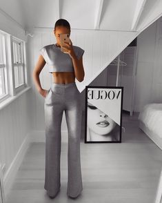 Palazzo Pants Outfit For Work. 14 Budget Palazzo Pant Outfits for Work You Should Try. Palazzo pants for fall casual and boho print. Cute Pants Outfits, Classy Outfits, Chic Outfits, Trendy Outfits, Fall Outfits, Summer Outfits, Fashion Outfits, Womens Fashion, Fashion Week